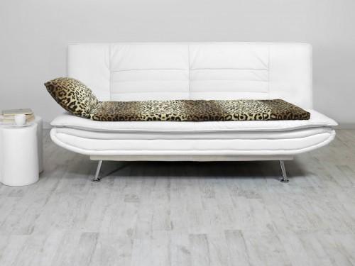 Relax Sofa kanapé-fedőmatrac - leopárd