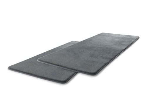 Relax memóriahabos szőnyeg - szürke, 2 db