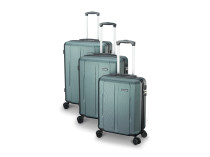 GO keményfalú bőrönd