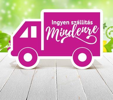 0 Ft szállítás MINDENRE