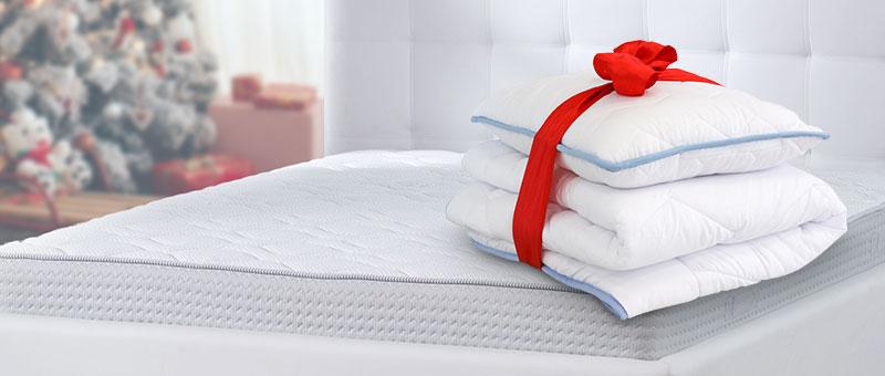 Ajándék ágyneműszett a matracokhoz