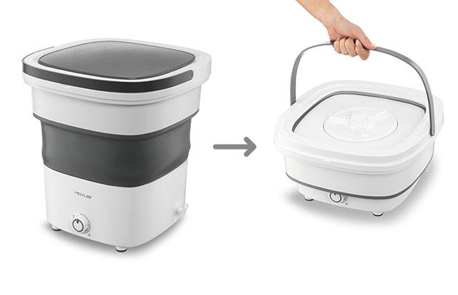 Rovus összecsukható mosógép