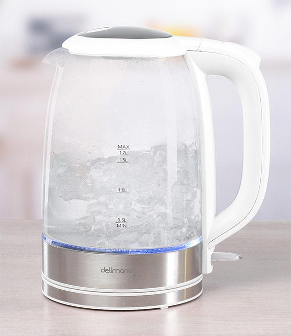 Delimano Joy üveg vízforraló